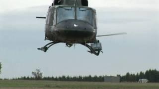 Austrian Air Force/Bundesheer AB 212 Low Pass Flyby - Tiefflug (1080p HD)