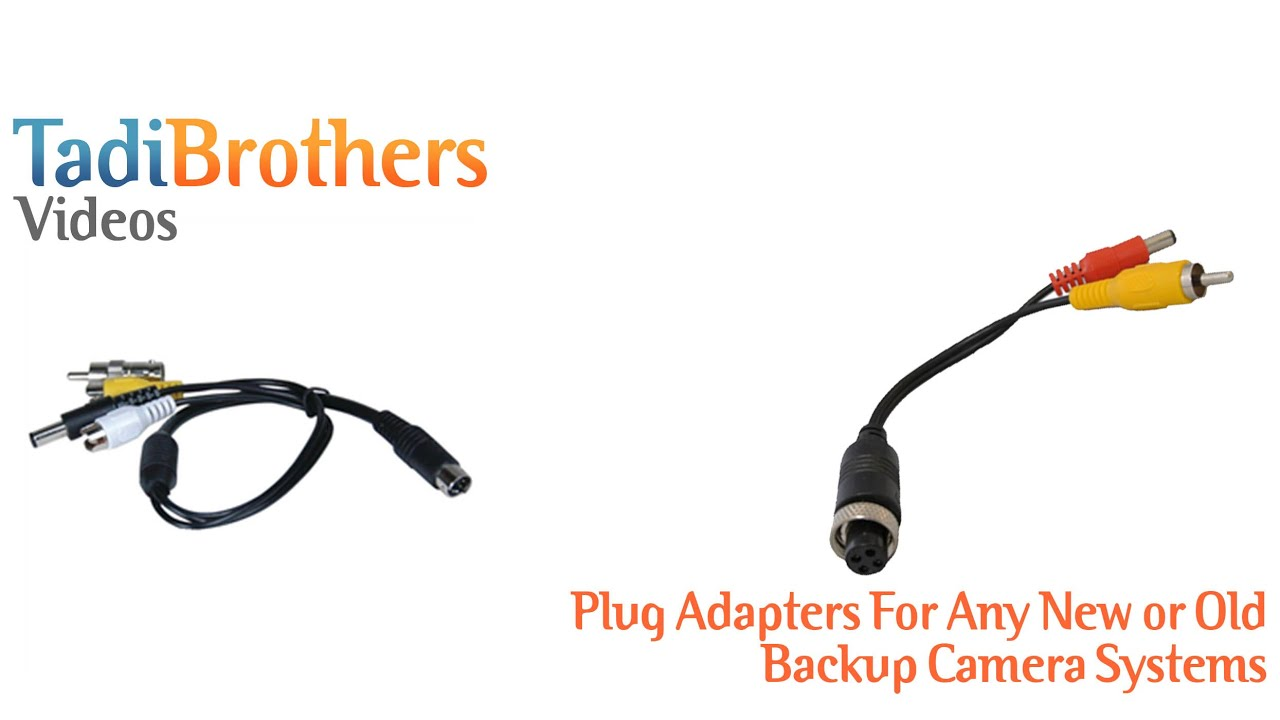 Adapters for old Backup Camera Systems on