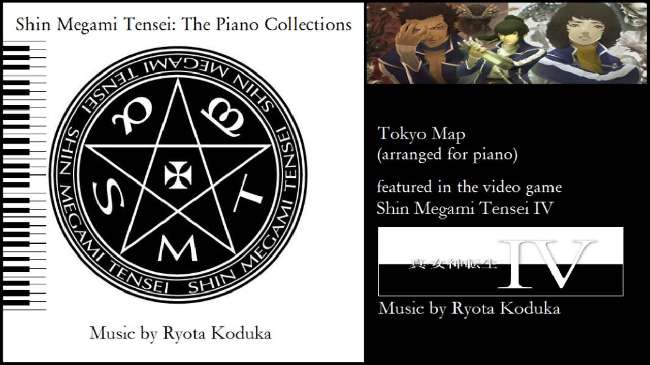 Smt Iv World Map.Tokyo Map Shin Megami Tensei Iv Piano Collections Youtube