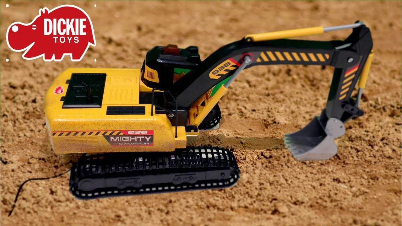 Digger Toy Disney Cars Style Digger Toy Excavator Toy Dickie Construction Site Toys Kids Vehicles Mining Digger