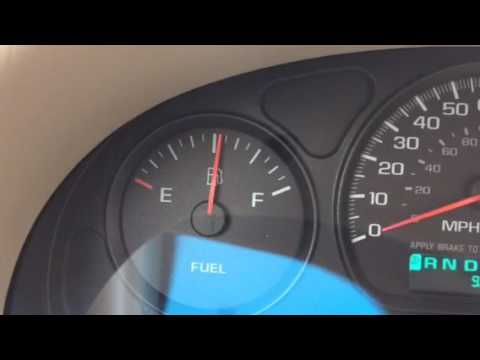 Chevrolet Impala 2000-2005 gas fuel gauge problem - YouTube