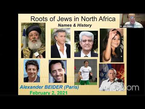 Roots Of Jews In North Africa: Names And History With Dr. Alexander Beider