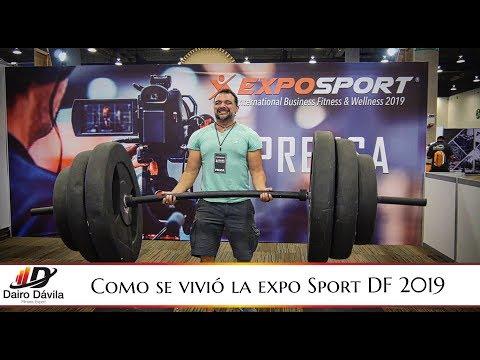 Lo Que No Viste De La Expo Sport Fitness 2019 CDMX