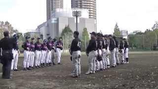 2015,11,21 東京ジャンクス練習試合 猿江恩賜公園 チンプイ戦 その1.