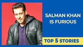 Top 5 Stories | Salman Khan Is FURIOUS | RIP Rishi Kapoor | No DATING Apps For Kiara
