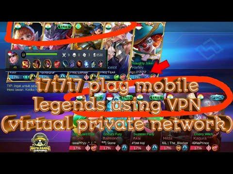 i7i7i7 Playing Mobile Legends Use VPN