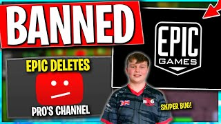 Epic Deleted Pro's YouTube for Selling Skins.. Benjyfishy Saved by This