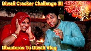Diwali Celebration Vlog | Dhanteras To Diwali Vlog | View From Jodhpur Ka Kila | Shopping Vlog