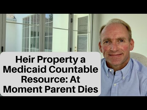 Unknown Medicaid Rule: Estate Property is Received on Parent's Day of Death