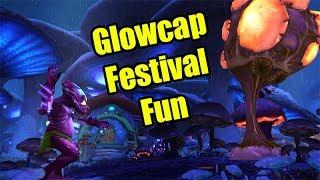 Glow Cap Festival Fun