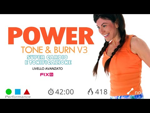 Power Tone & Burn V3 - Allenamento Completo Total Body Ad Alta Intensità!