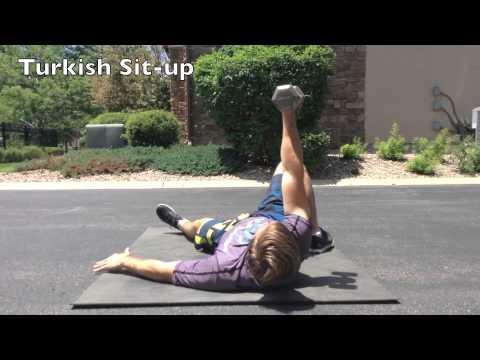 Shoulder Pain Rehabilitation for Athletes: Part 2 - Open Chain Exercises