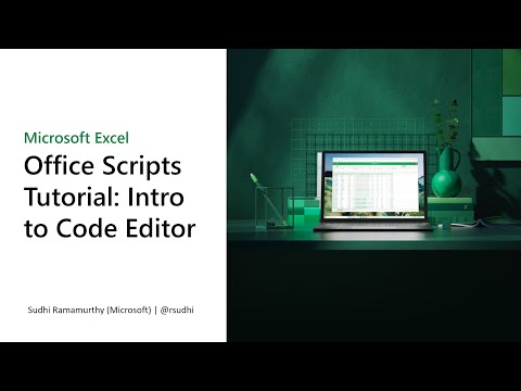 Office Scripts Tutorial: Introduction to the Code Editor