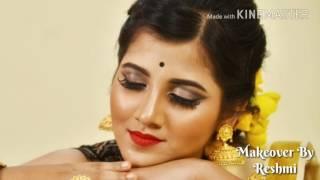 Bengali Retro Look Tutorial || Makeover By Reshmi ||