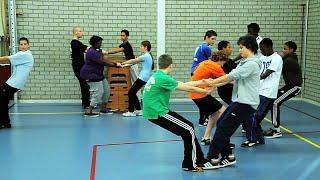 CKV Activiteiten - Freerunning - De leerlingen maakten kennis met deze toffe sport!