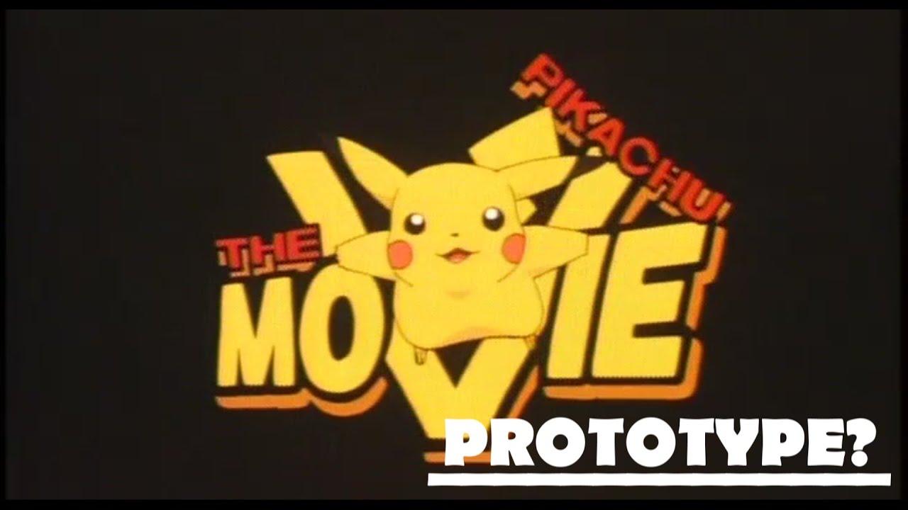 Pikachu The Movie Prototype Logo 1999 Youtube