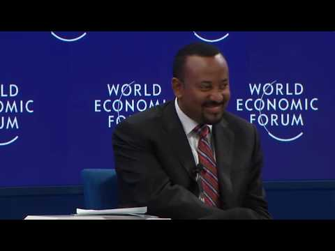 Abiy Ahmed: A Conversation with the Prime Minister of Ethiopia (Davos 2019)