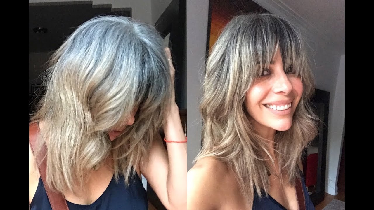 Perspective On Transitioning To Grey White Hair Rocking