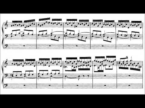 J.S. Bach - Prelude and Fugue in A minor