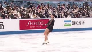 Елизавета Туктамышева тройной аксель на КЧМ в Осаке