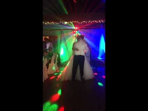 Kelly and James' first dance!
