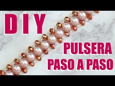 DIY PULSERA PARA MAMÁ / DIY BRACELET STEP BY STEP!