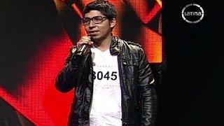 Jesus Navarro de Reik sorprendió con su voz en el casting
