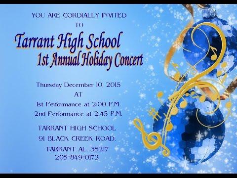 Tarrant High School Holiday Concert 2015