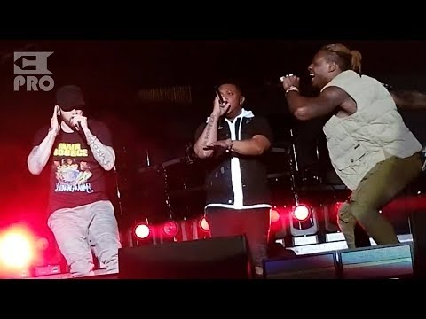 Eminem Ft. PHresher - Chloraseptic (Remix) [Multicam Video] (The Governors Ball, 03.06.2018)