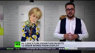 'Orwellian censorship': EU rejects caricatures of leaders & policies for Brussels exhibition