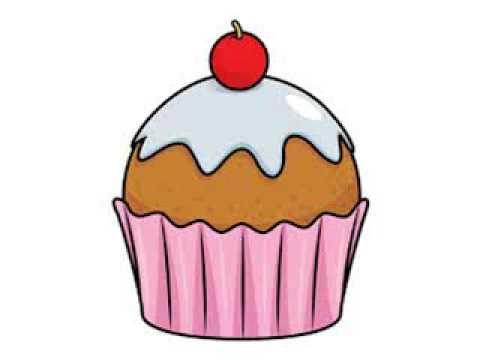 Cupcake Clipart - YouTube