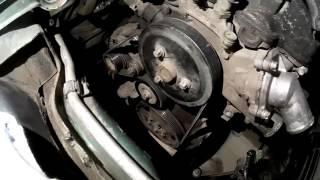 Opel Corsa В Размер ремня без кондиционера и какие подшипники в генераторе