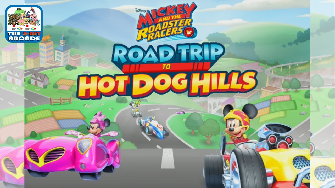 Mickey And The Roadster Racers Road Trip To Hot Dog Hills Ios Ipad Gameplay Youtube