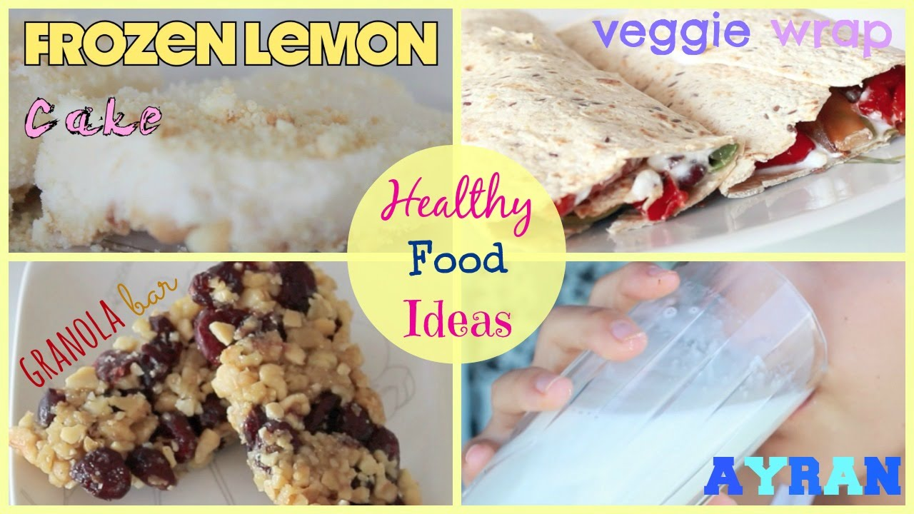 Easy healthy food ideas diy youtube for Diy cooking