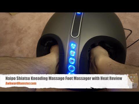 Naipo Shiatsu Kneading Massage Foot Massager with Heat Review