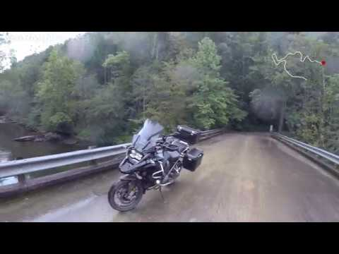 (4K) BMW R1200GSA Wildcat / 384 & Forest Service Rd - Telico Plains, TN