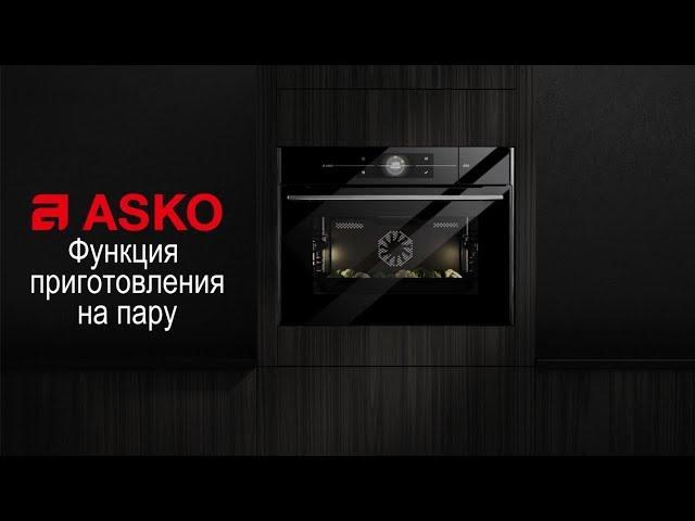Духовой шкаф Asko с функцией пара