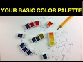 Tips for Selecting Colors for a Basic Watercolor Palette