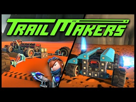 Trailmakers - The Jet Trike & The Rocket Car! THE WIND! - Let's Play Trailmakers Gameplay