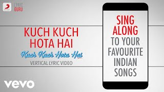 Cover images Kuch Kuch Hota Hai - Official Bollywood Lyrics | Udit Narayan | Alka Yagnik | Jatin-Lalit