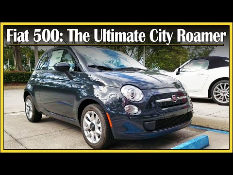 2017 Fiat 500 Pop Review | Refreshed & Starting Under $15,000! | Detailed Walk Around