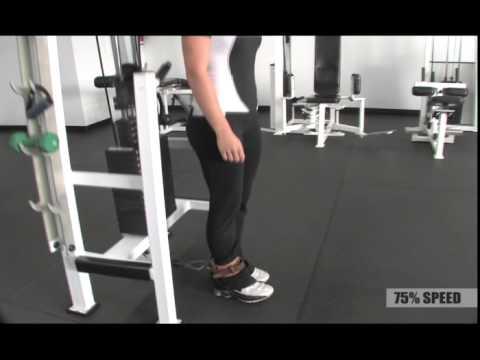 cable hip flexion straight leg