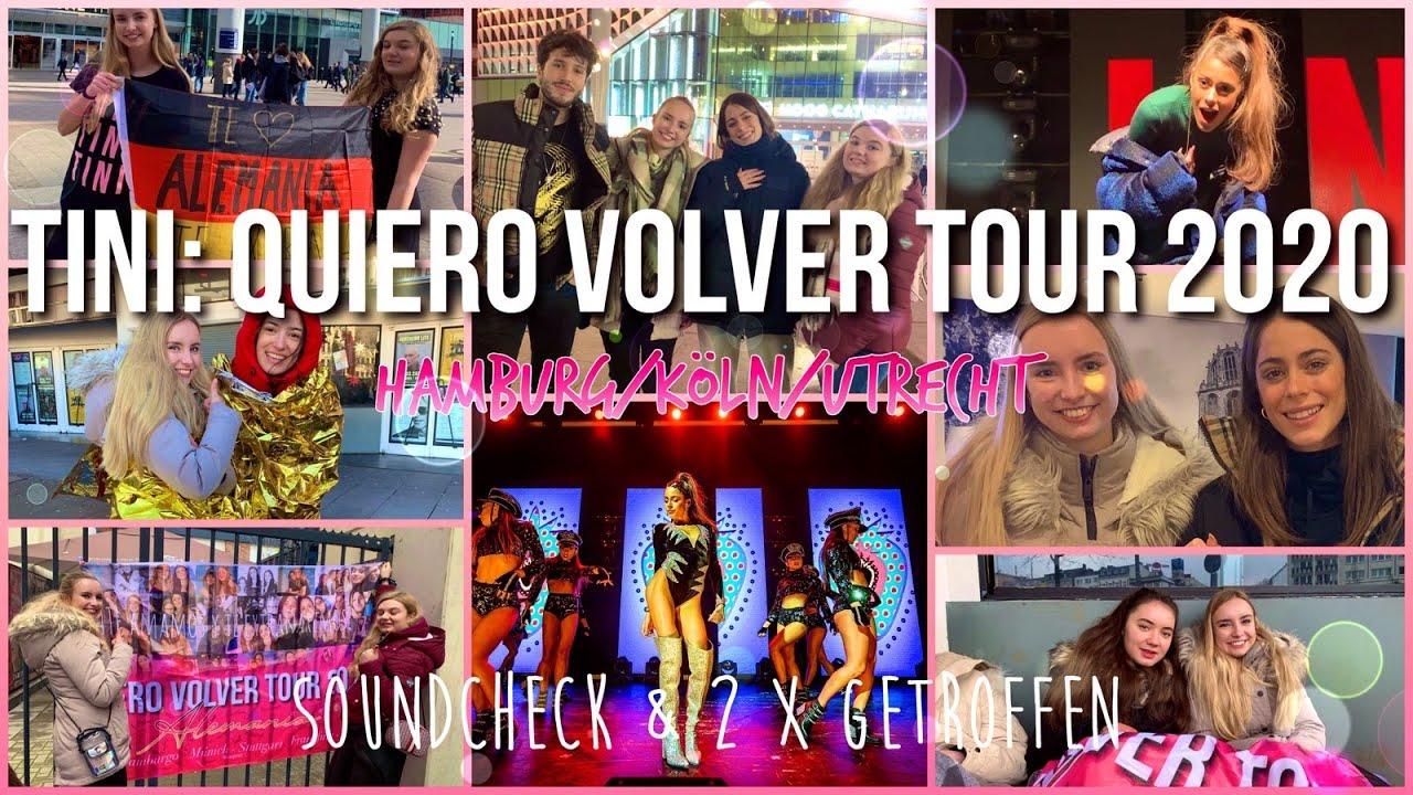 Vlog - TINI: Quiero Volver Tour 2020 // 3 Konzerte, 2x getroffen & 1x Soundcheck ❤️(engl. subtitles)