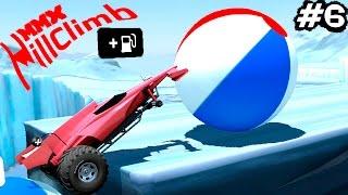 МАШИНКИ MMX HILL CLIMB #6 ЧУМОВЫЕ ТАЧКИ ГОНКИ игровой мультик про машинки машины монстры как ВСПЫШ