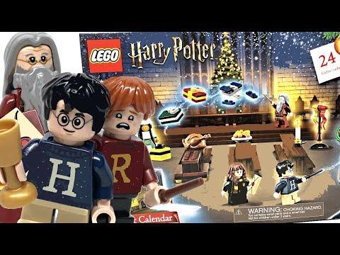 LEGO Harry Potter Advent Calendar Review! 2019 Set 75964!