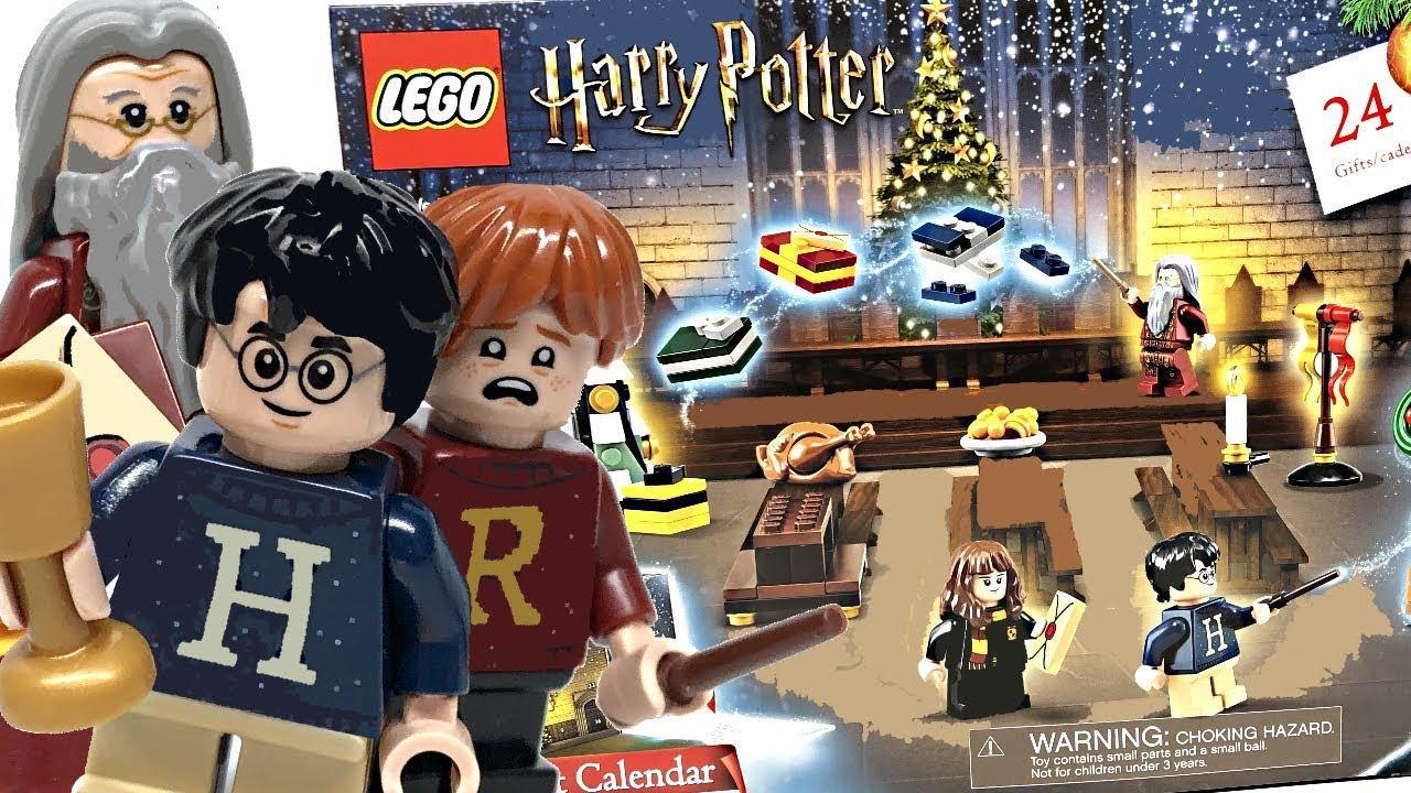 Lego Christmas Set 2019.Lego Harry Potter Advent Calendar Review 2019 Set 75964