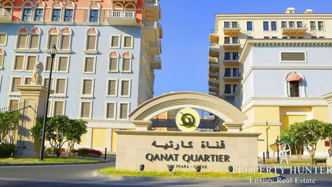 Apartment for Rent at The Pearl Qatar/Qanat Quartier Doha ...