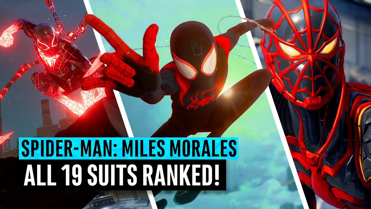 Spider-Man: Miles Morales | ALL 19 suits ranked