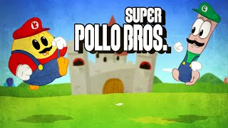 Super Pollo Bros (parodia super mario bros)