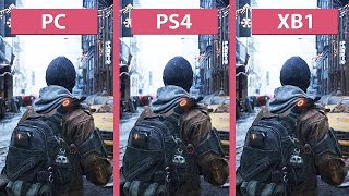 The Division – PC vs. PS4 vs. Xbox One Graphics Comparison